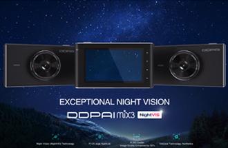 Промо видео - видеорегистратор DDPai MIX3 (английская версия)